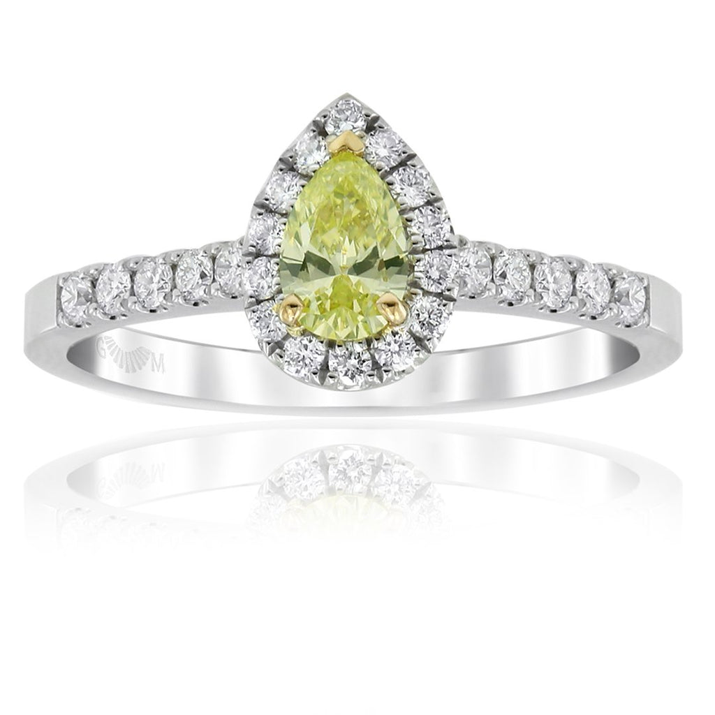 Gerard McCabe Aura Yellow Diamond Ring