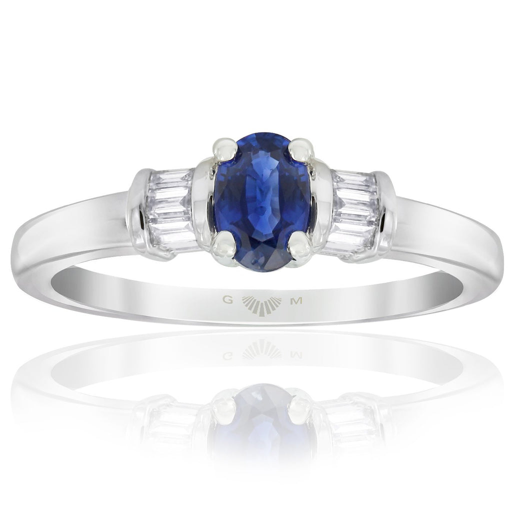 Gerard McCabe Sapphire and Diamond Ring