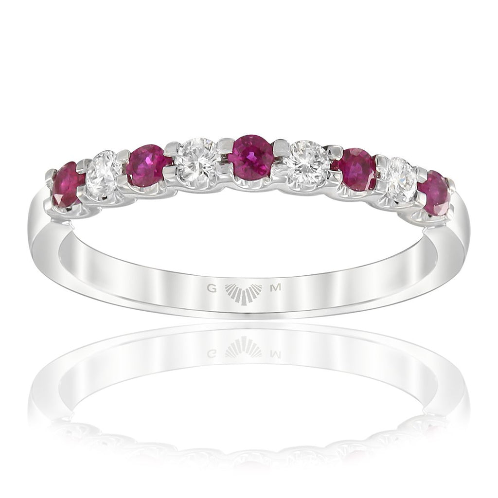 Gerard McCabe Classic Ruby & Diamond Ring