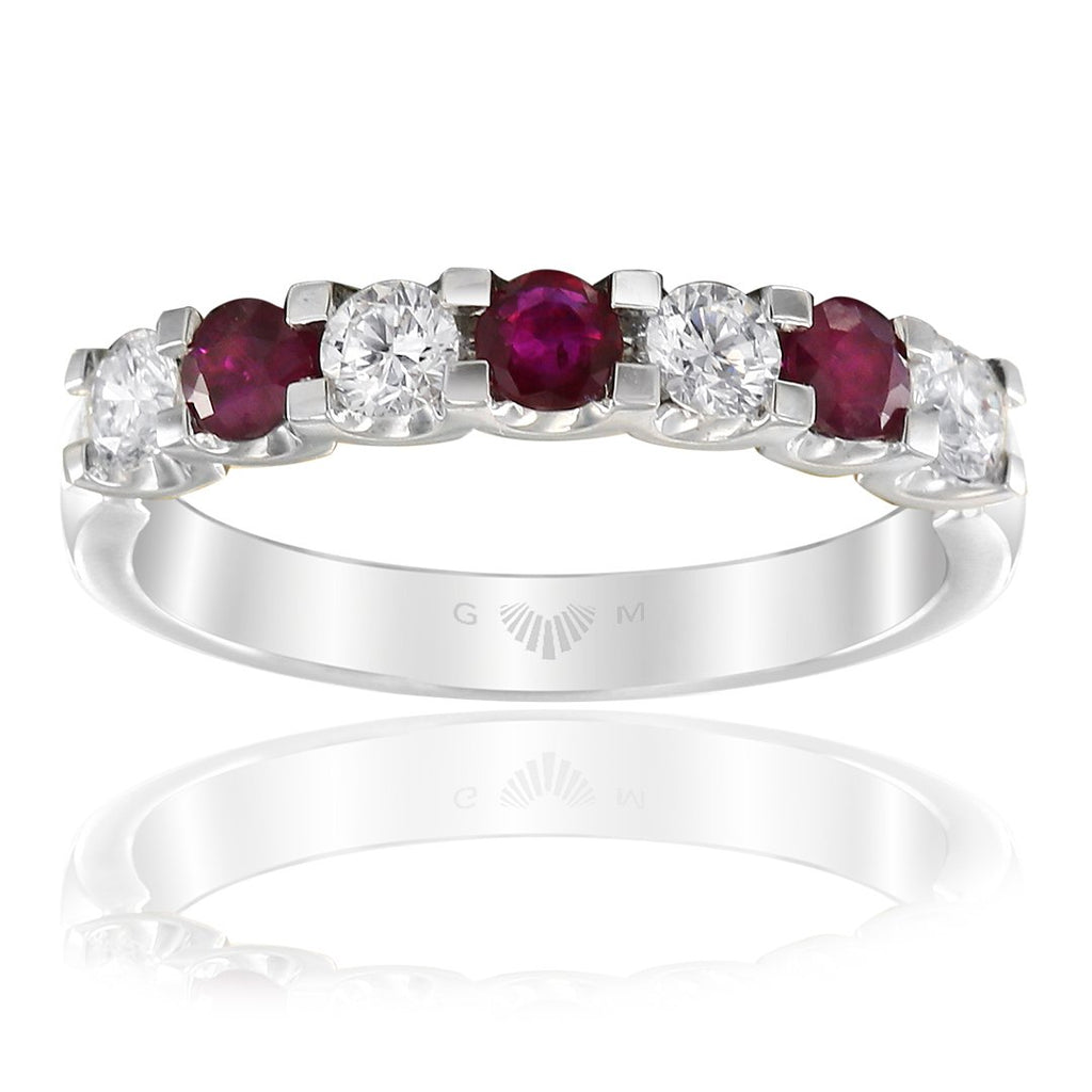 Gerard McCabe Classic Ruby and Diamond Ring