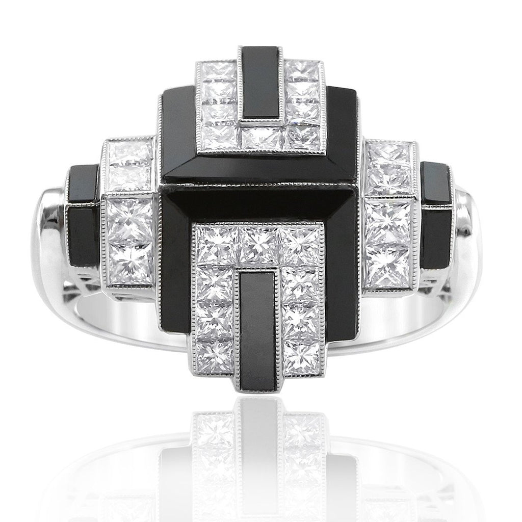 Gerard McCabe Noir Onyx and Diamond Ring