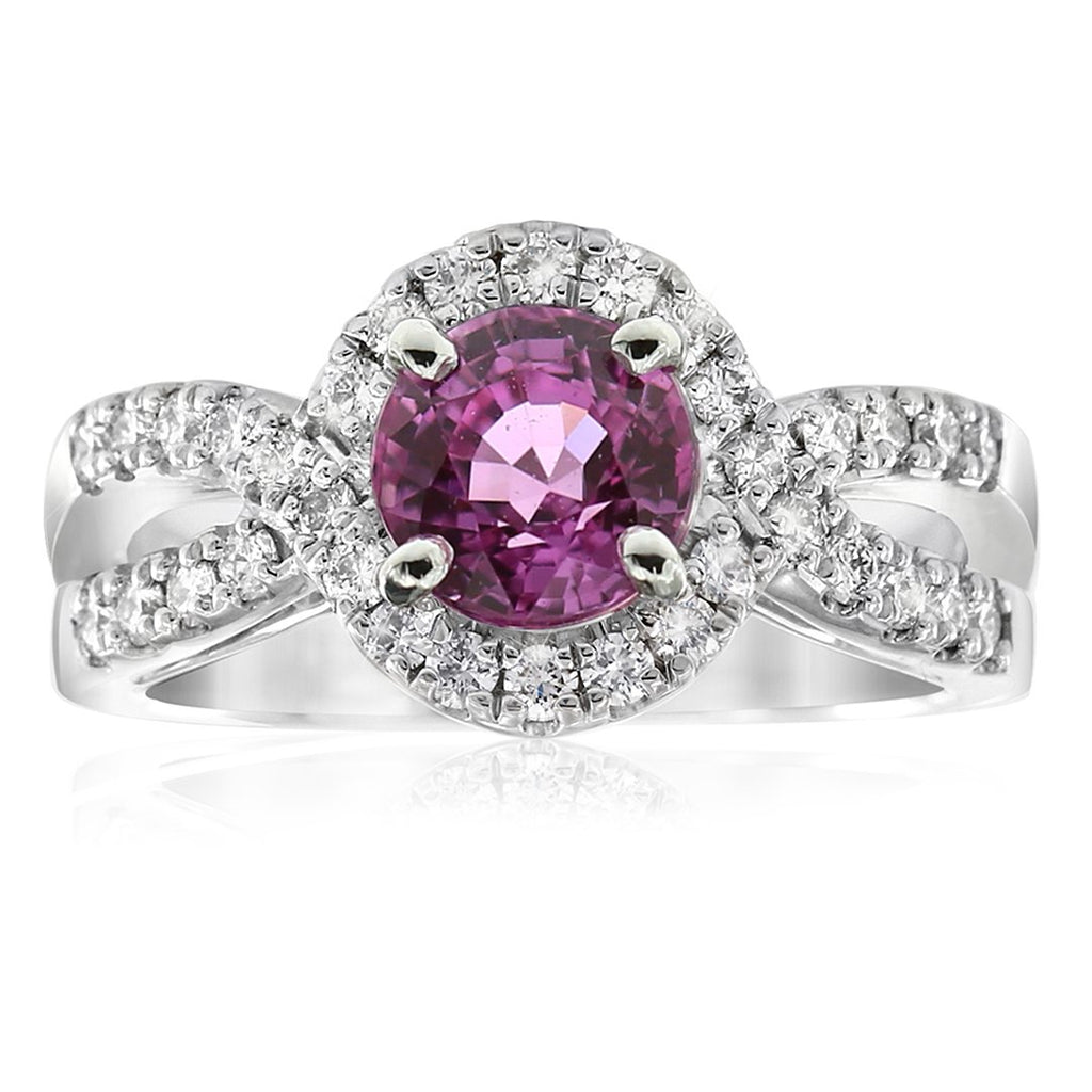 Gerard McCabe Deluxe Pink Sapphire & Diamond Ring
