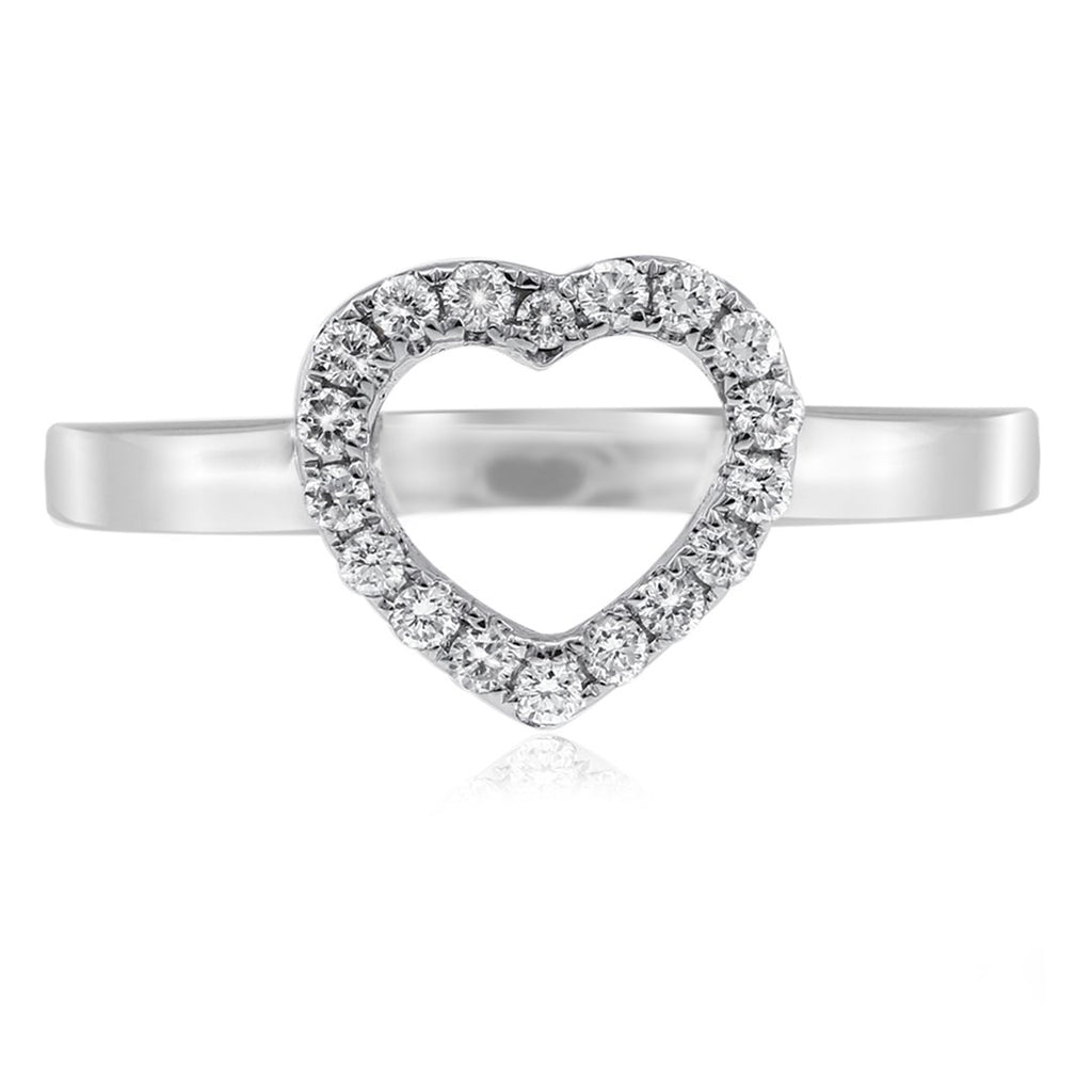 Gerard McCabe Classic Open Heart Ring