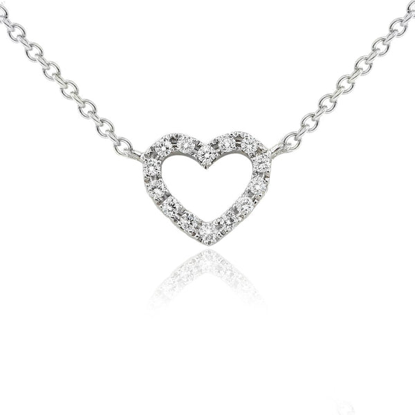 Gerard McCabe Diamond Heart Pendant