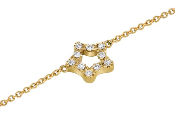 Gerard McCabe Diamond Star Bracelet