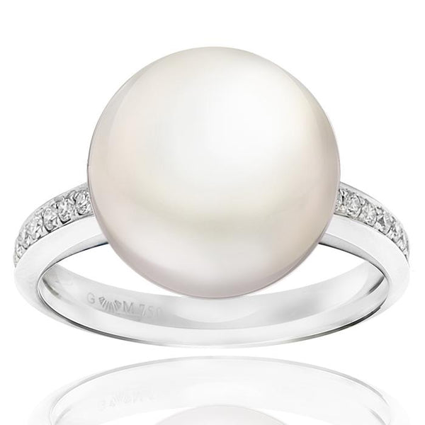 Gerard McCabe Luminosity Classic South Sea Pearl Ring