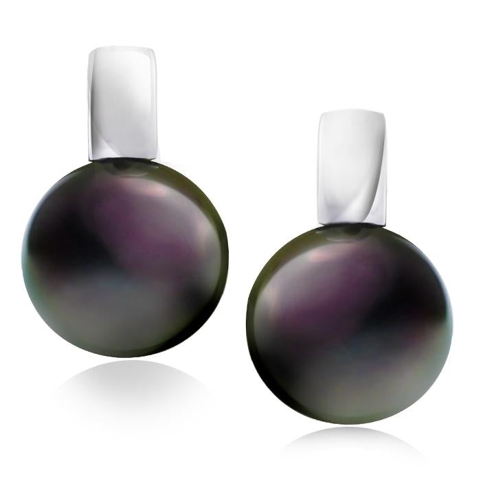 Gerard McCabe Luminosity Classic Tahitian Pearl Earrings