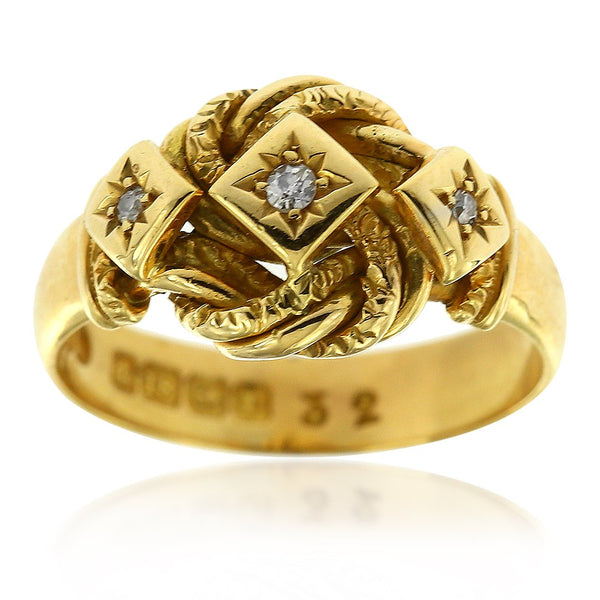 Gerard McCabe Antique True Lovers Knot Ring