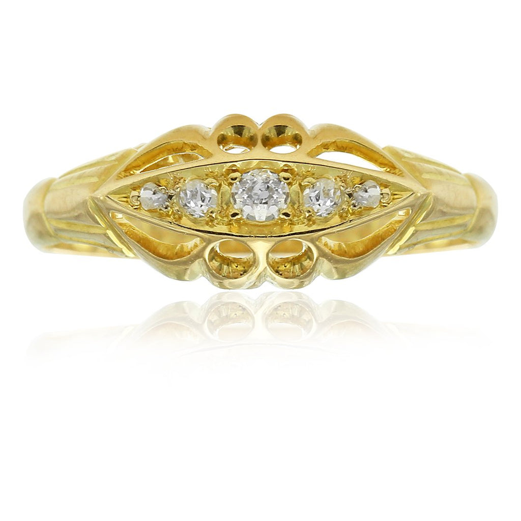 Gerard McCabe Antique Diamond Ring