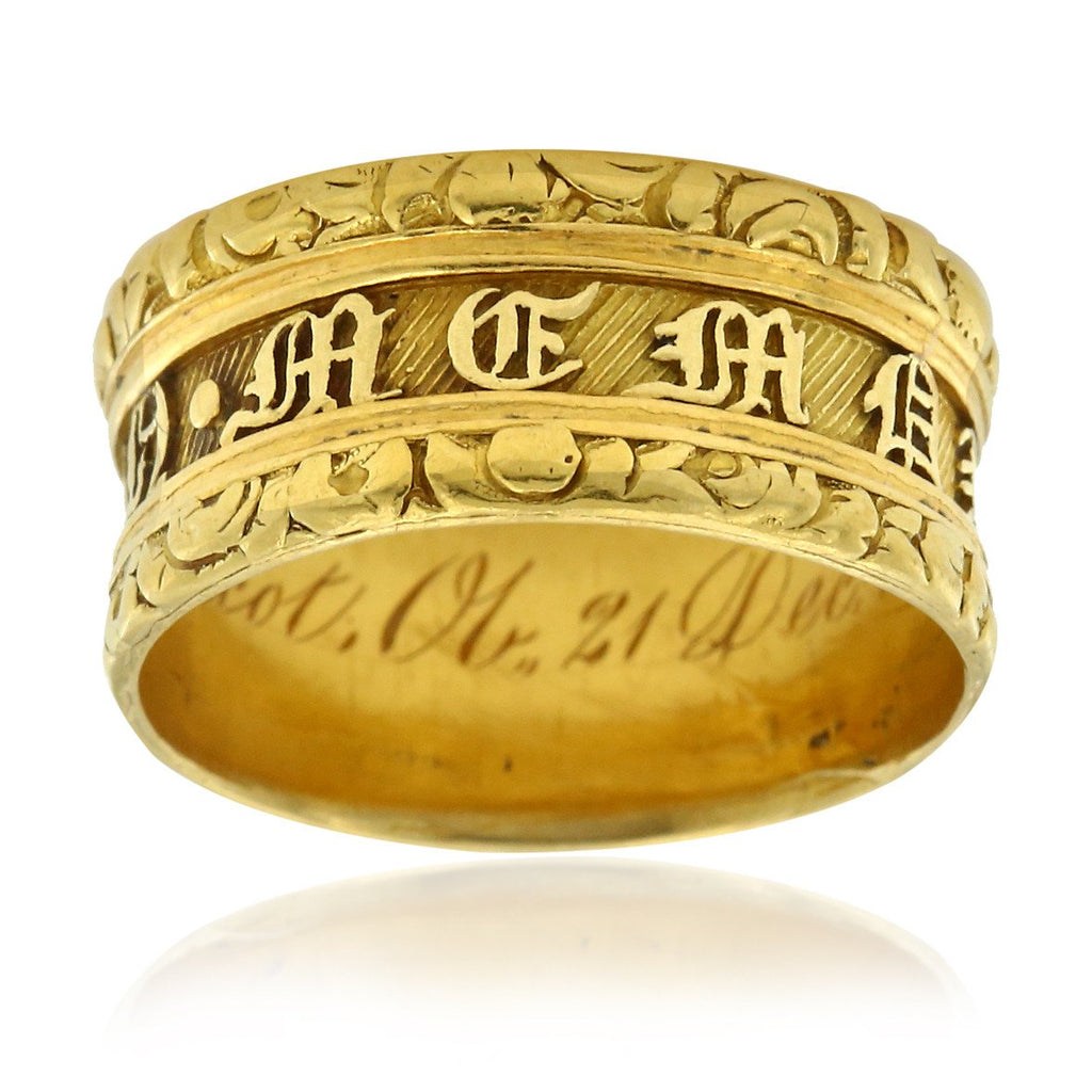Gerard McCabe Antique Georgian Memorial Ring