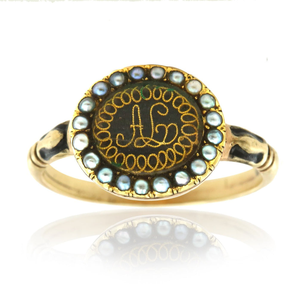 Gerard McCabe Antique Memorial Ring