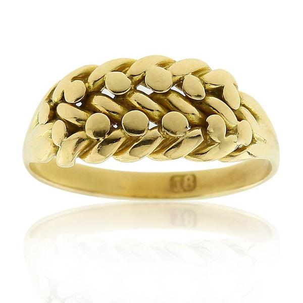Gerard McCabe Antique Gold Ring