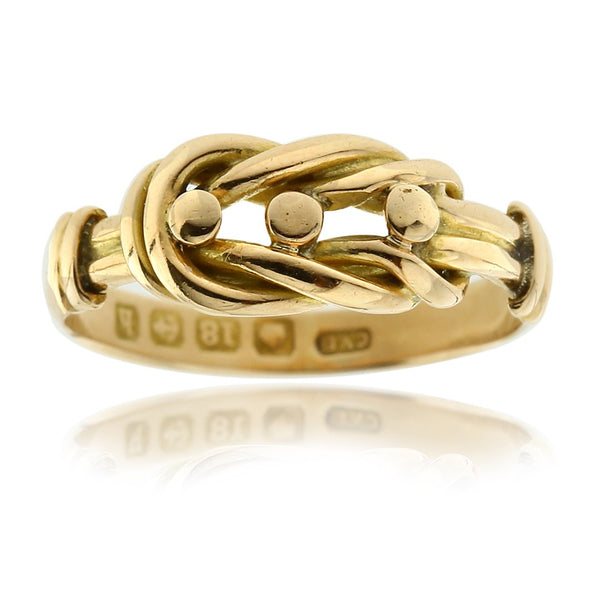 Gerard McCabe Antique True Lover's Knot Ring