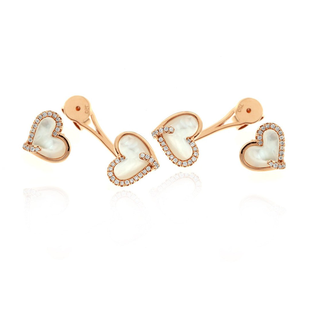 Gerard McCabe Mother Earth Heart Earrings
