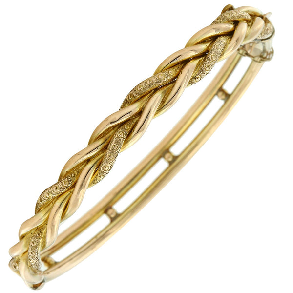 Gerard McCabe Antique Gold Bangle