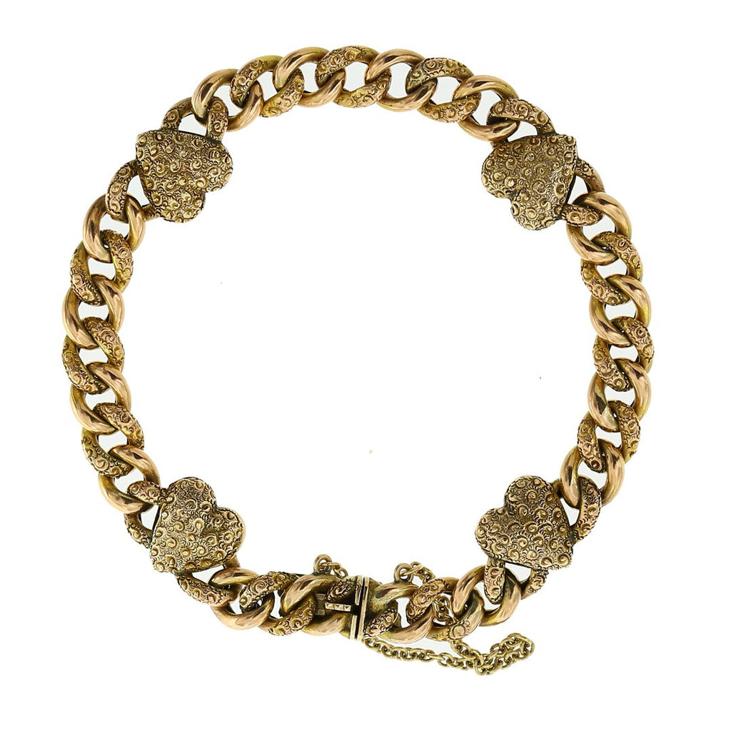 Gerard McCabe Antique Heart Bracelet