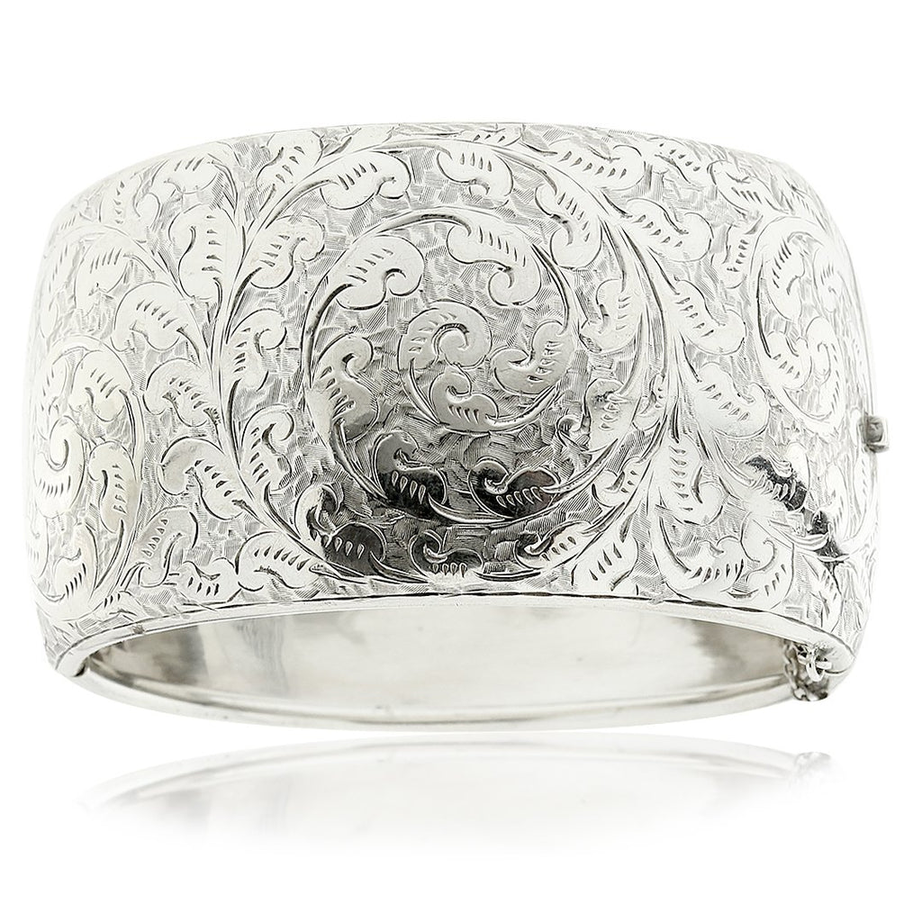 Gerard McCabe Antique Silver Bangle