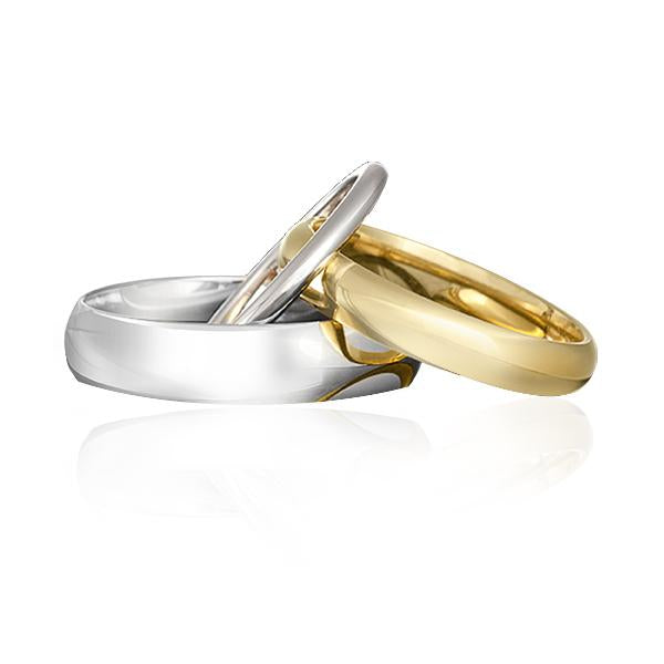 Gerard McCabe Wedding Ring Specialists Men's Classic Wedding Ring