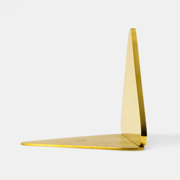 Shadow Bookend (polished brass)