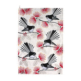 Tea Towel Flirting Fantails
