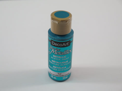 Deco Art Dazzling Metallics Paint 2oz - Teal
