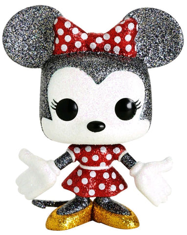 Mickey Mouse - Minnie Mouse Diamond Glitter Pop! Vinyl