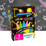 Life of Colour Paint Pens - Fluro