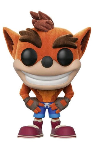 Pop! Crash Bandicoot Flocked