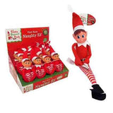 Christmas Naughty Elf 30cm