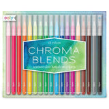 Chrome Blends Watercolour Brush Markers