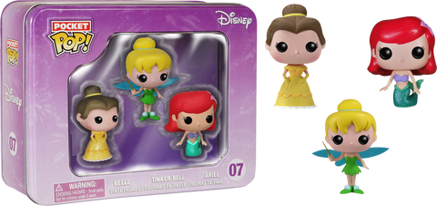 Pocket Pop! Disney Princesses Tin