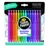Crayola Take Note! Washable Gel Pens