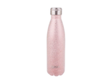 Oasis Shimmer Insulated Drink Bottle Blush 500ml