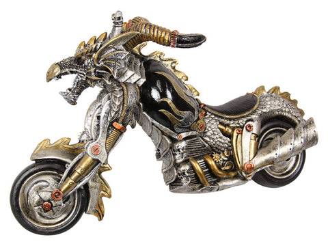 Steampunk Bike Skull Hell Rider