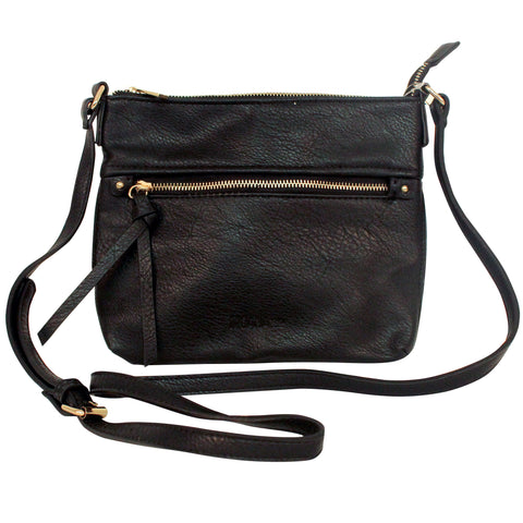Moana Rd - The Thorndon Crossbody Bag Black