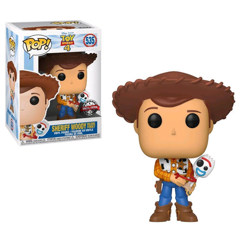 Pop! Toy Story 4 Sheriff Woody with Forky