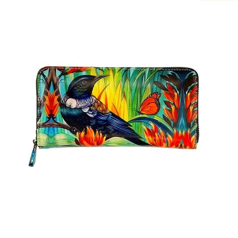 Native Bird Tui Leather Wallet