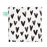 Bumkins Large Snack Bag - Hearts