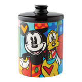 Britto Mickey & Pluto Canister Small
