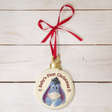 Baby's First Christmas Decoration - Eeyore