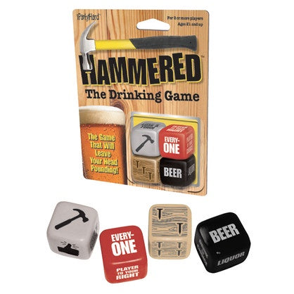 Dice Game - Hammered The Drinking Game