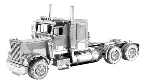 Metal Earth - Freightliner FLC Lone Nose Truck