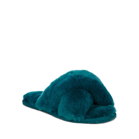 Emu Australia Mayberry Teal Slippers