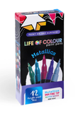 Life of Colour Paint Pens - Metallics