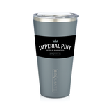 BruMate Imperial Pint | Matte Grey