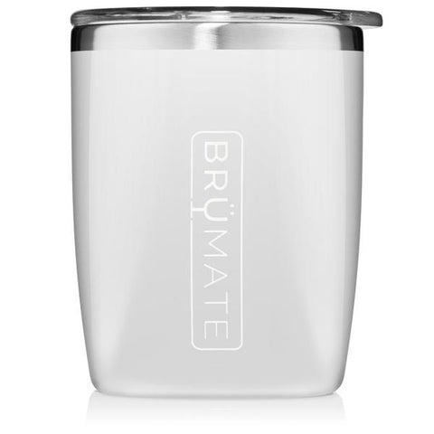 BruMate Rocks Glass Ice White