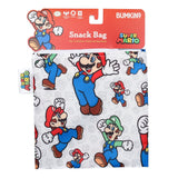 Bumkins Large Snack Bag - Super Mario