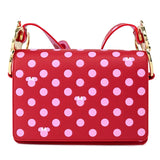 Loungefly - Mickey Mouse - Minnie Pink Polka Dot Crossbody
