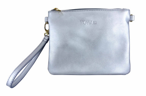 Moana Rd - The Viaduct Clutch Silver