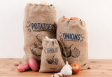 Jute Produce Bags Assorted Set